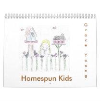 Homespun Kids Calendar