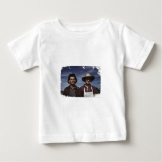 Homestead Farmer & Wife Baby T-Shirt