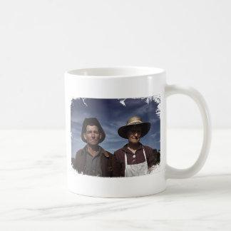 Homestead Farmer & Wife Classic White Coffee Mug
