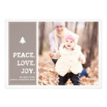 Homestead - Holiday Photo Card - Pink Custom Announcement