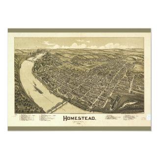 Homestead Pennsylvania (1902) Card