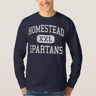Homestead - Spartans - High - Fort Wayne Indiana T Shirt