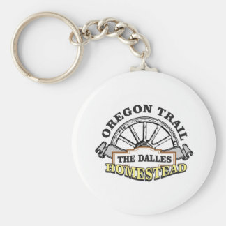 homestead the dalles keychain