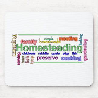 Homesteading Mouse Pad