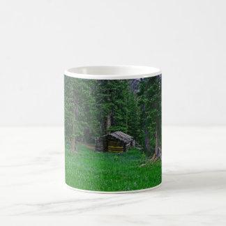 Homested Cabin Classic White Coffee Mug
