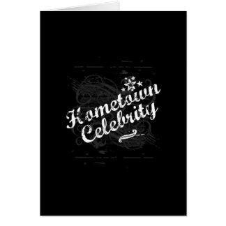 Hometown Celebrity Card