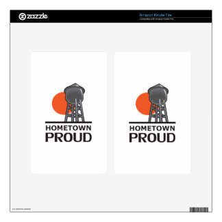 HOMETOWN PROUD SKIN FOR KINDLE FIRE