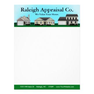 Hometown Real Estate Letterhead