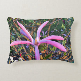 Homeward floral accent pillow