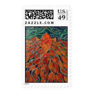 homeward (painting) postage