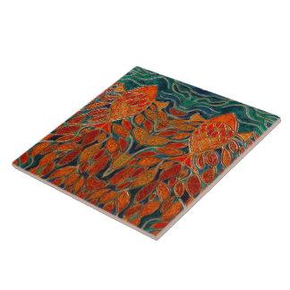 """""""Homeward"""" (painting) Tile"""