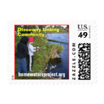 Homewaters Project funnel net Postage Stamp