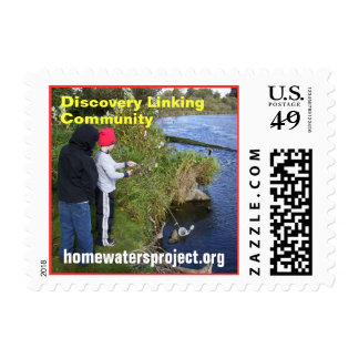 Homewaters Project funnel net Stamps