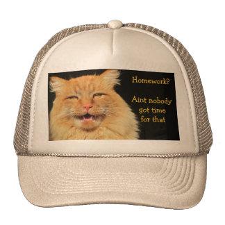Homework? Aint Nobody Got Time For That Trucker Hats