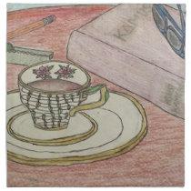 Homework Art Napkin
