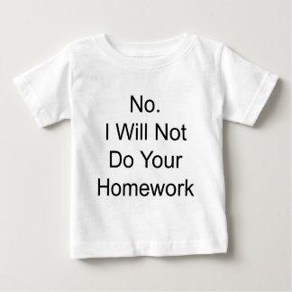 Homework Baby T-Shirt