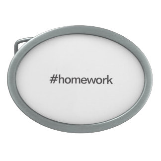 homework belt buckle