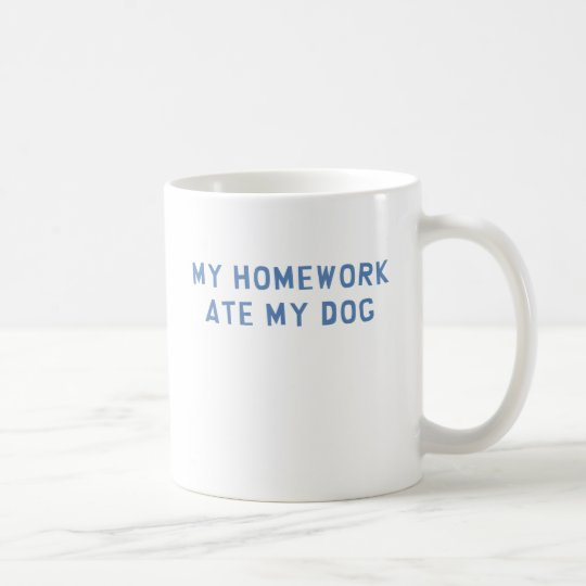 Homework Coffee Mug