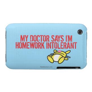 Homework Intollerant Case-Mate iPhone 3 Case