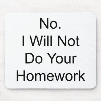 Homework Mousepads