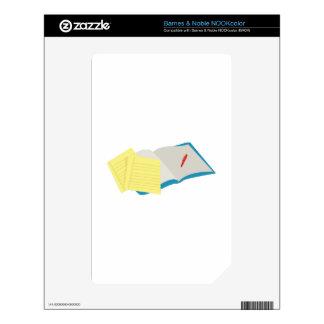 Homework Decals For NOOK Color