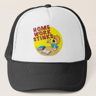 Homework Stinks! (boy) Trucker Hat
