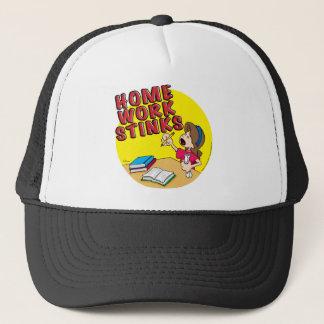 Homework Stinks (girl) Trucker Hat