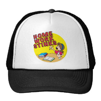 Homework Stinks (girl) Trucker Hat