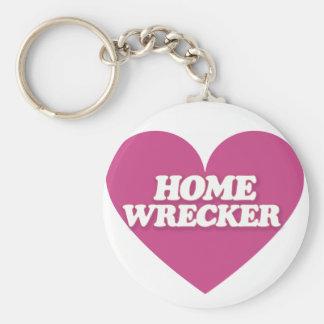 Homewrecker Heart Keychain