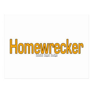 Homewrecker Postcard