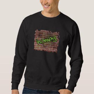 homey graffiti  design pull over sweatshirt