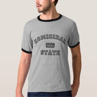 Homicidal State Ringer T-shirt
