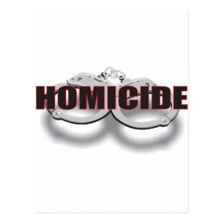HOMICIDE POSTCARD