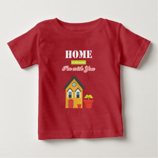 homie is more wherever, i to with you infant t-shirt