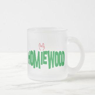 Homiewood California Frosted Glass Coffee Mug