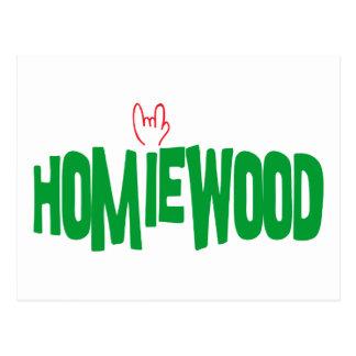 Homiewood California Postcard