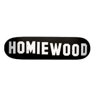 HOMIEWOOD Sign Skate Decks
