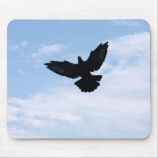 Homing Pigeon Coming Home Mousepad
