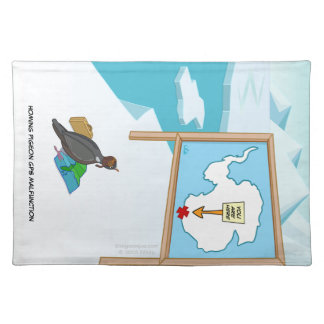 Homing Pigeon GPS Malfunction Placemats