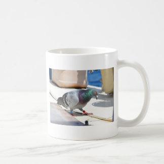 Homing Pigeon On A Yacht Coffee Mug