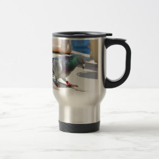 Homing Pigeon On A Yacht Mug
