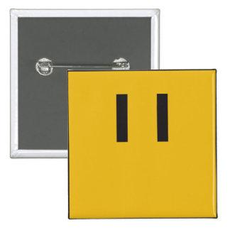 Hominid Button, Planetoid 5 Pinback Button