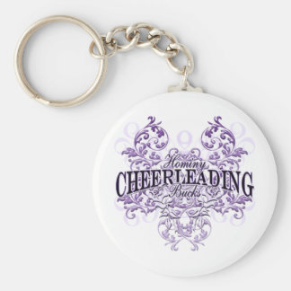 Hominy Bucks Cheerleading Keychain