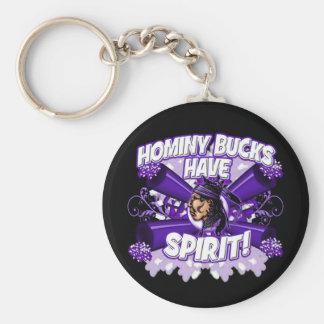 Hominy Bucks Have Spirit Keychain