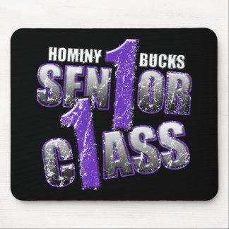 Hominy Bucks Senior Class 11 Mouse Pad