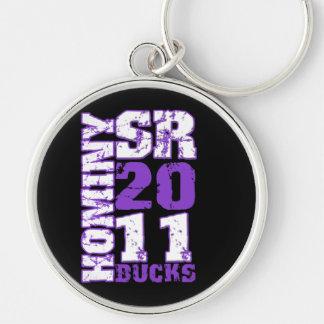 Hominy Bucks Sr. 2011 Keychain