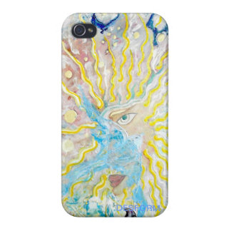 HOMME SOLAIRE painting by DESFORM iPhone 4/4S Case