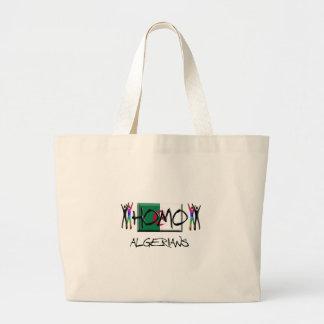 Homo Algeria Jumbo Tote Bag