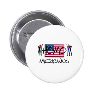 Homo America Pinback Button