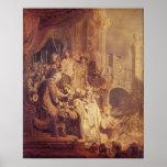 Homo de Ecce, 1634 Poster